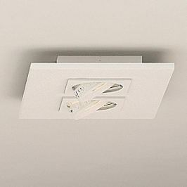 Milan Marc - LED-Deckenleuchte, 2-flam. schwenkbar