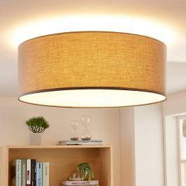 3-stufig dimmbare LED-Deckenlampe Dora in Grau