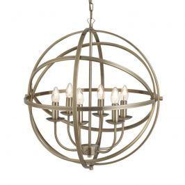 Anmutige Hängeleuchte Orbit im Käfig-Design