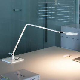 Vibia Flex - LED-Tischleuchte, glänzend weiß