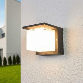 Bega LED-Außenwandlampe Erik einseitig abgeblendet