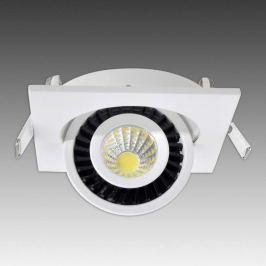 Quadratischer LED-Einbaustrahler Bari