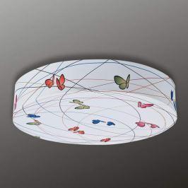 Schmetterlinge - Textil-Deckenleuchte Bio, 40 cm