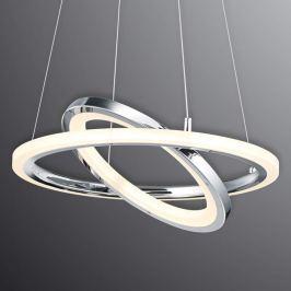 Extravagante LED-Hängeleuchte Saturn