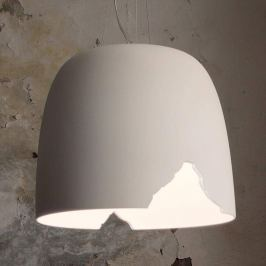 Karman Crash - Hängeleuchte aus Keramik