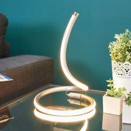 LED-Tischlampe Sena in geschwungenem Design