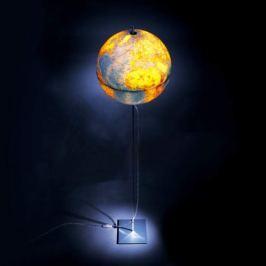 Globe Earth - Stehleuchte mit Weltkugel