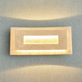 Bezaubernde LED-Wandleuchte Lolina, goldfarben