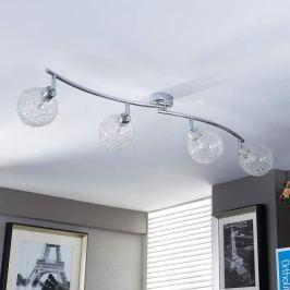 Wellenförmige G9-Deckenlampe Ticino mit LED