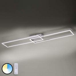 Multifunktionale LED-Deckenlampe Iven mit Fernbed.