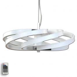 Dekorative LED-Hängeleuchte Zoya, weiß