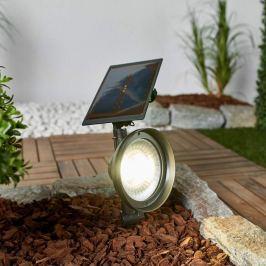 LED-Erdspießstrahler Riley mit Solarpanel
