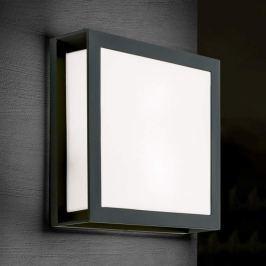 Anthrazitfarbene Außenwandlampe Henry, IP44