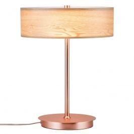 Paulmann Liska Tischleuchte mit Holz und Kupfer