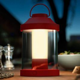 Philips Abelia LED-Laterne in Rot