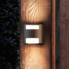 Philips Grass LED-Außenwandleuchte anthrazit
