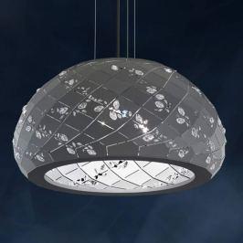 Swarovski Apta - Kristall-Pendelleuchte, grau
