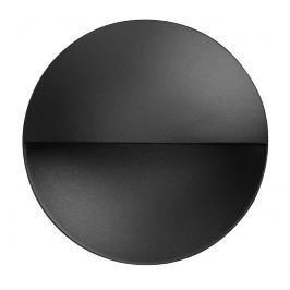 FLOS Giano - LED-Wandeinbauleuchte IP65 schwarz