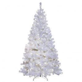 Weißer LED-Tannenbaum Ottawa für außen 2,1m 260LED