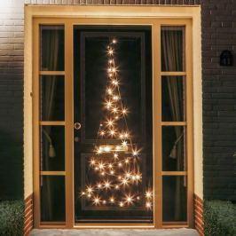 Tür-Weihnachtsbaum-Silhouette Fairybell® - 2,10 m