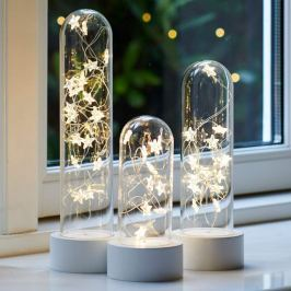 Dreierset LED-Dekoleuchte Bella Star