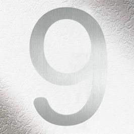 Hochwertige Hausnummern aus Edelstahl 9