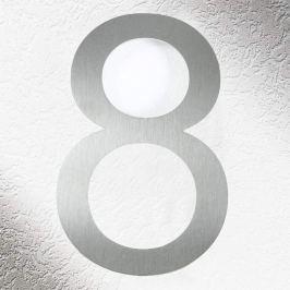 Hochwertige Hausnummern aus Edelstahl 8