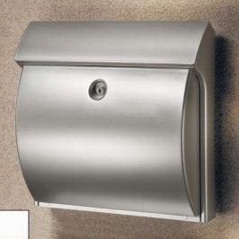 CLASSICO Kunststoff-Briefkasten, silber