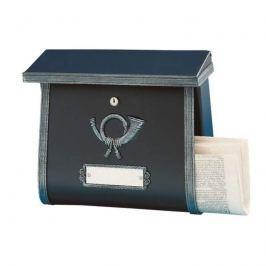 Rustikaler Briefkasten MULPI schwarz antik