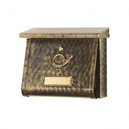 Geschmackvoller Briefkasten MULPI terra bronze