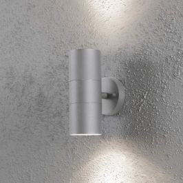 Außenwandleuchte NEW MODENA 2-flg. grau