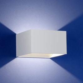 B-Leuchten Cube Wandleuchte weiß