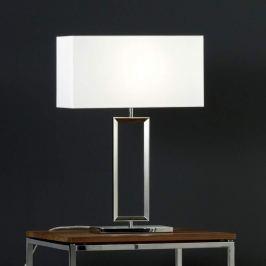 Helestra Enna 2 - Textil-Tischleuchte, 53 cm