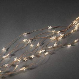 10-Strang-Lichterkette Starfall LED 90fl