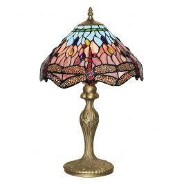 Bezaubernde Tiffanystil-Tischleuchte DRAGONFLY