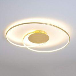 Schön geformte LED-Deckenlampe Joline, golden