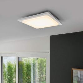 Veena - weiße LED-Deckenleuchte aus Aluminium