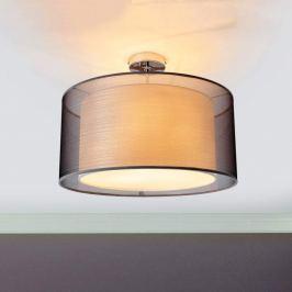 Tika - schöne Deckenlampe aus Stoff