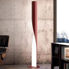 Kundalini Evita - formschöne LED-Stehleuchte rot