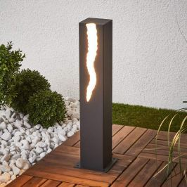 El Rayo - LED-Sockelleuchte, einseitig strahlend