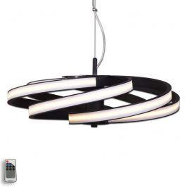 Dekorative LED-Hängeleuchte Zoya, schwarz
