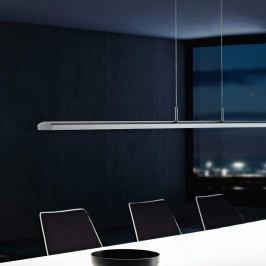 Holtkötter Alpha LED-Pendelleuchte, 125 cm, platin