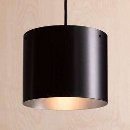 ANTA Afra LED-Hängeleuchte schwarz-silber