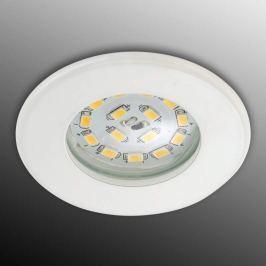 Effizienter LED-Einbaustrahler Nikas IP44 weiß