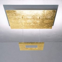 Escale Zen - Blattgold-LED-Hängeleuchte
