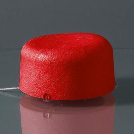 Auffällige Tischleuchte Ola rot mit LED