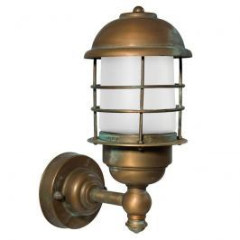 Amando - Außenwandlampe aus Messing, seewasserfest