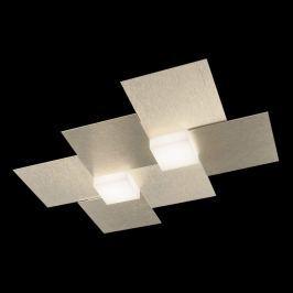 GROSSMANN Creo LED-Deckenleuchte 2fl. champagner