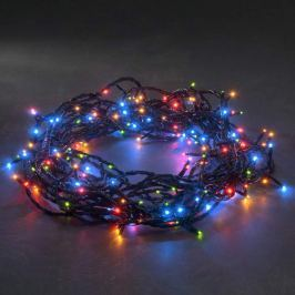 Bunte LED-Microlichterkette 80-flammig 10,5m