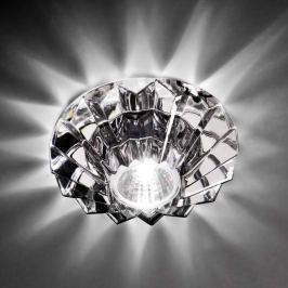 Axolight Nashir - Einbaustrahler mit Bleikristall